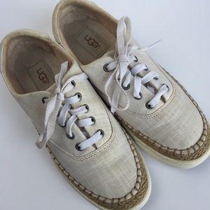 UGG Eyan II Canvas Sneakers Sz 7